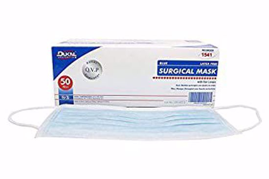 Picture of DK Surgical Mask w/ear loopBlueNS
